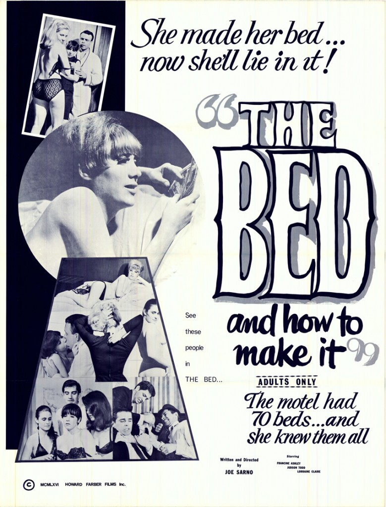 Joe Sarno The Bed and How to Make It